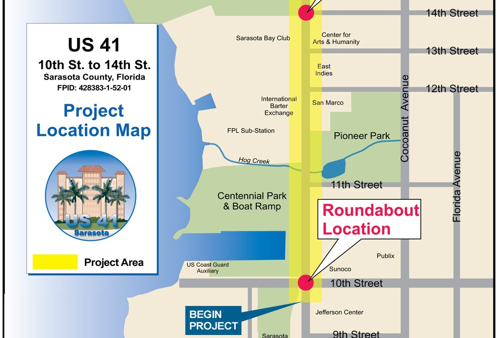 2 New Roundabouts Coming to Downtown Sarasota