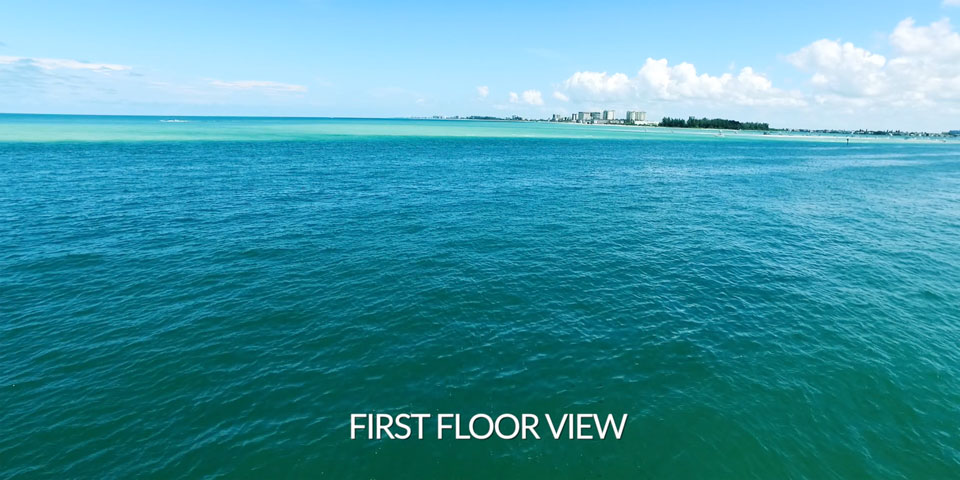 Siesta Key Luxury Condo 1st Floor View