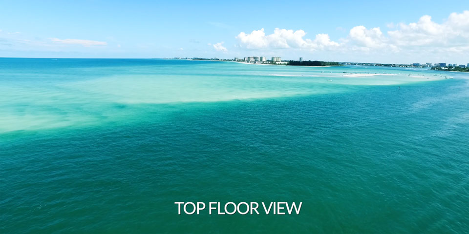 Siesta Key Luxury Condo Penthouse View