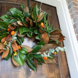 Luxury Home Magnolia Wreath