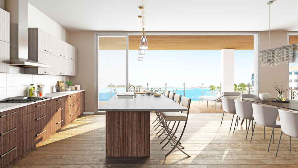 Oceane Siesta Key Condo Luxury Kitchen Design