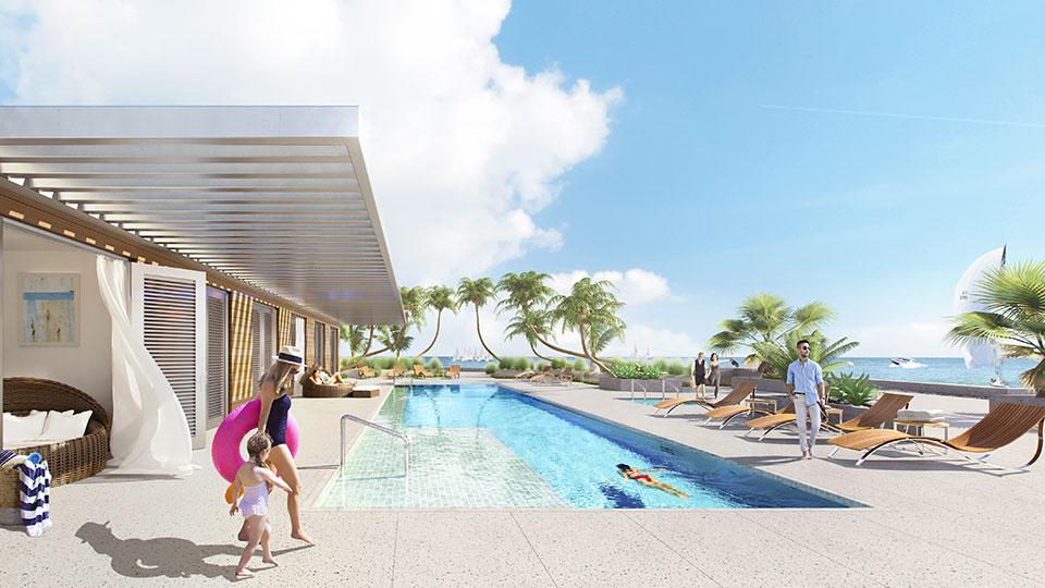 Oceane Siesta Key Pool