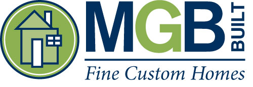 MGB Built Fine Custom Homes Logo