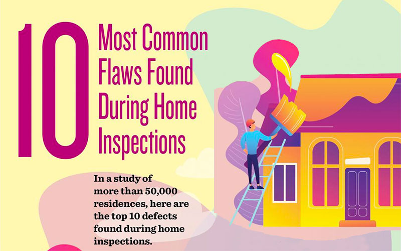 10 Most Common Flaws Found During Home Inspections