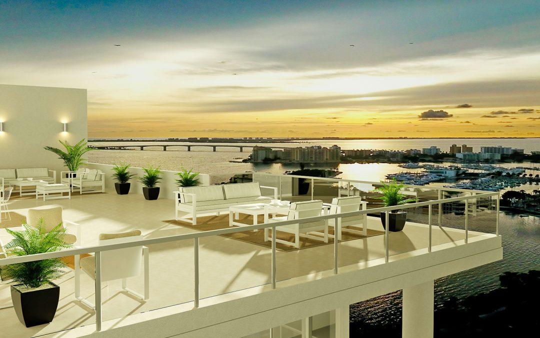 Epoch Sarasota Penthouse Sunset